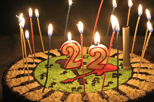 Поздравление с днем рождения парню с 22 летием